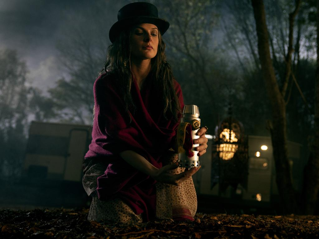 Rebecca Ferguson as Rose the Hat in Doctor Sleep.