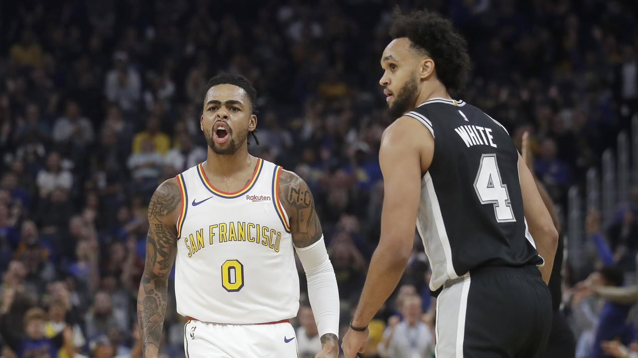 Golden State Warriors D'Angelo Russell passed 50 for the first time — and still lost.