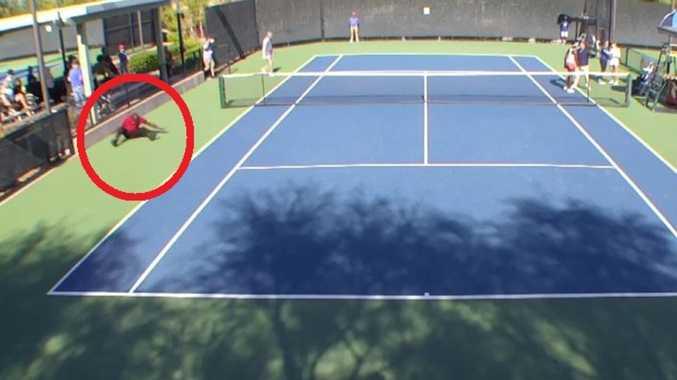 Handshake sparks wild tennis blow-up