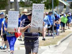 'Tipping point': Hundreds demand action at crime rally