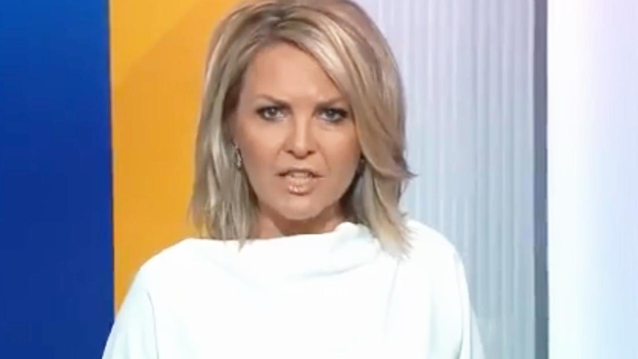 Georgie Gardner on the Today show. Picture: Today/Channel 9