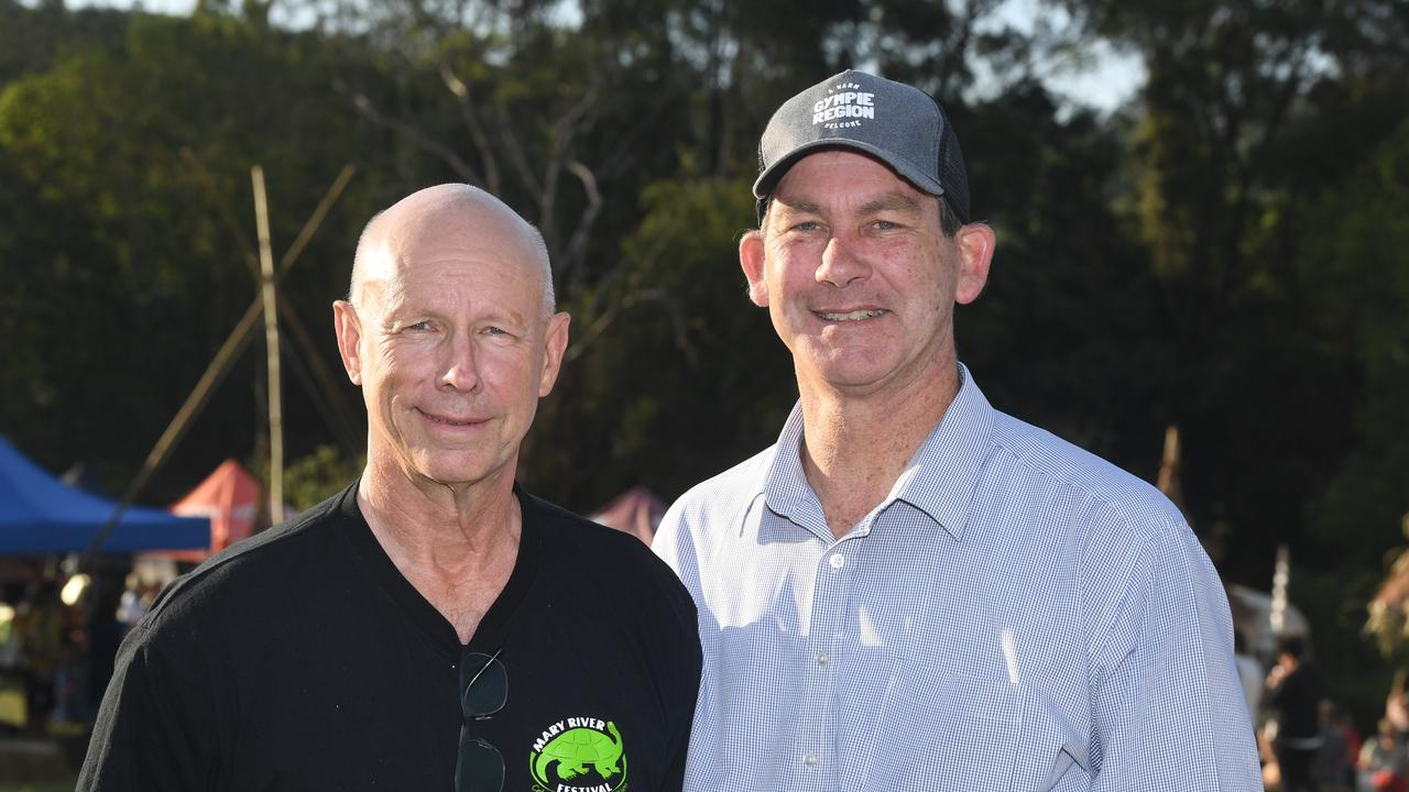 Mary River Festival celebrations – Bob Fredman and Mick Curran