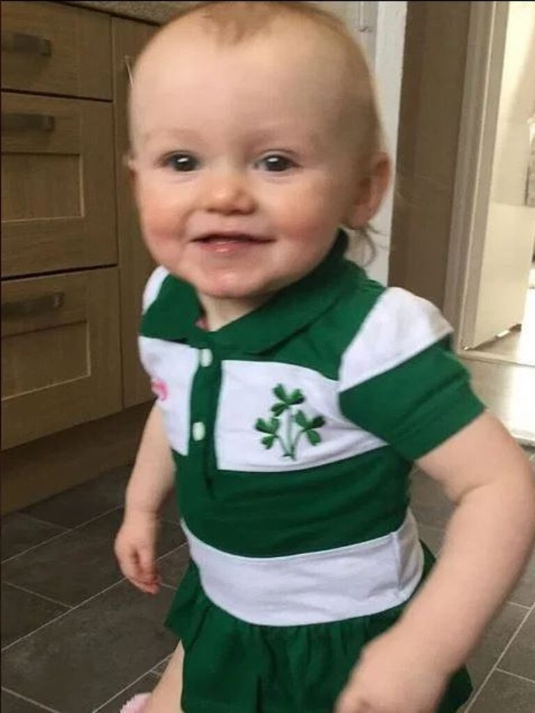 McGregor says a DNA test revealed Clodagh is not his child.