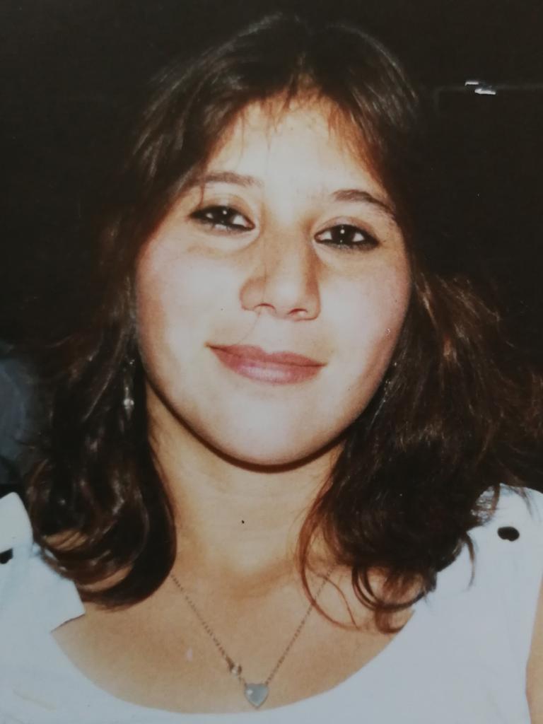 Murder victim Tania Westbrook in 1993.