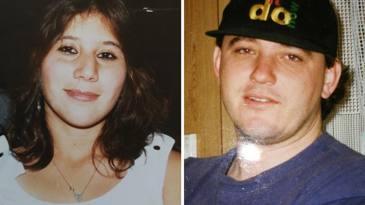 Murder victim Tania Westbrook and Convicted murderer Stephen Chowis, pictured in 1993