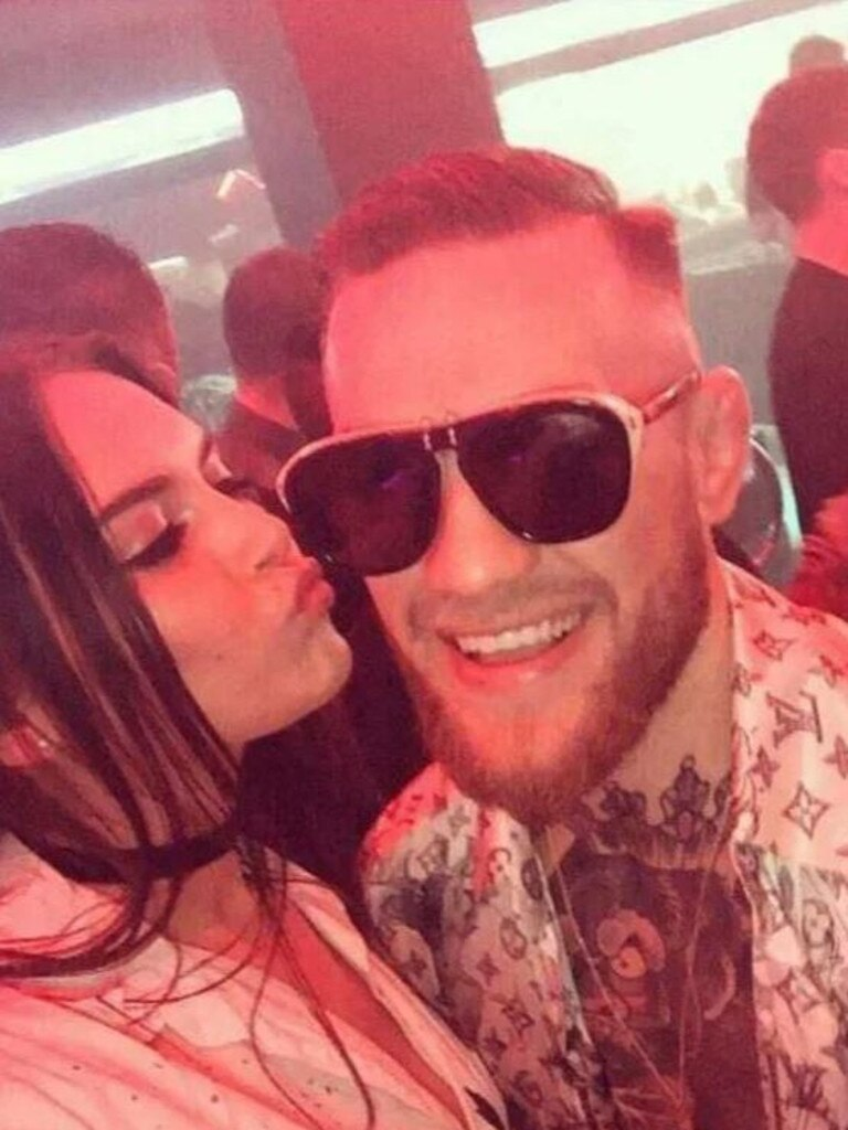 Terri met Conor McGregor in a Liverpool nightclub.