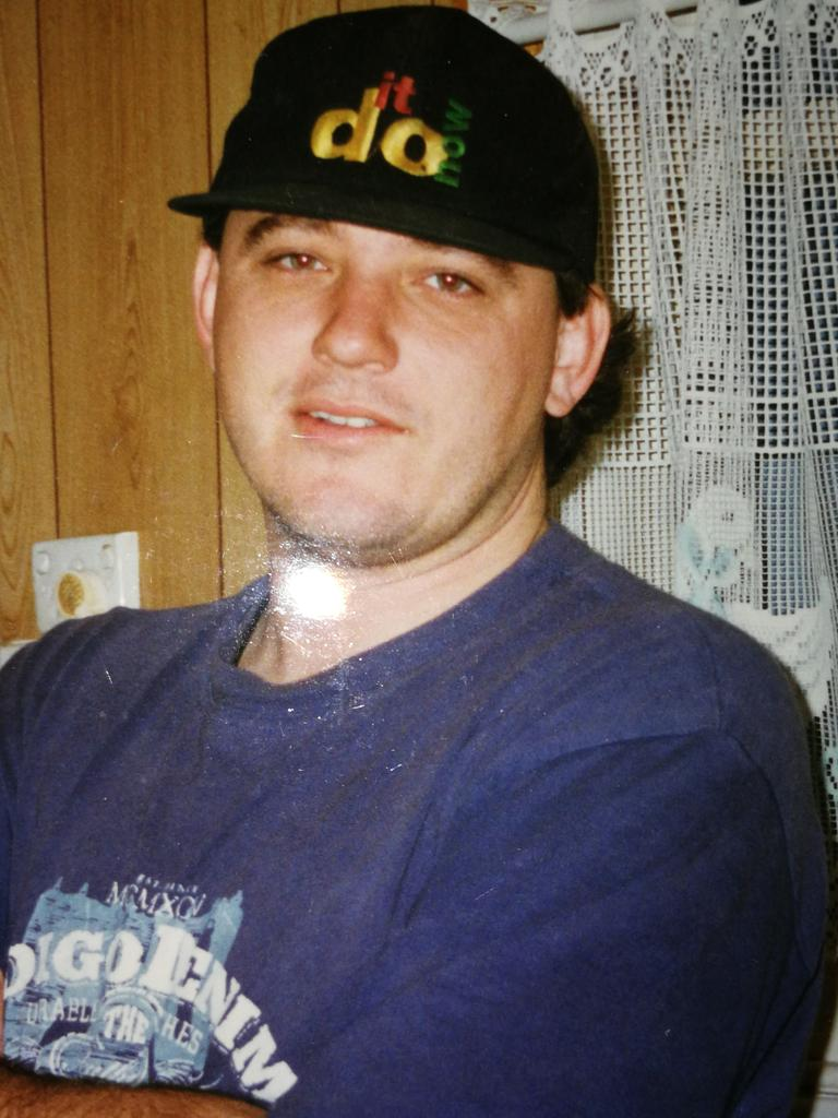 Convicted murderer Stephen Chowis in 1993.