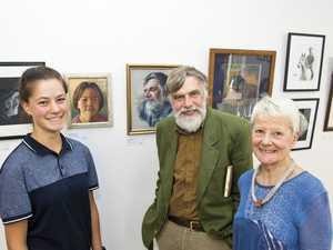 Trio in art show
