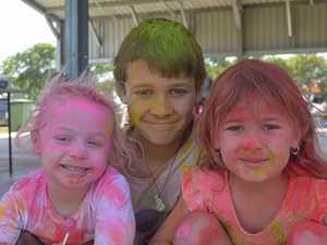 Colour carnage at Sarina ride