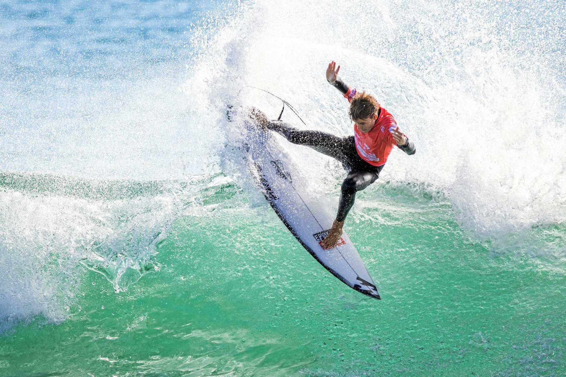 Angourie surfer Dakoda Walters.