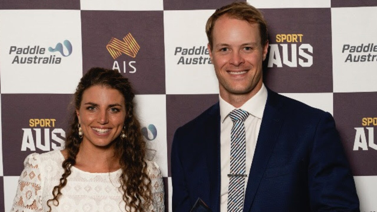 Jess Fox and Curtis McGrath were the big winners at the Paddle Australia awards.