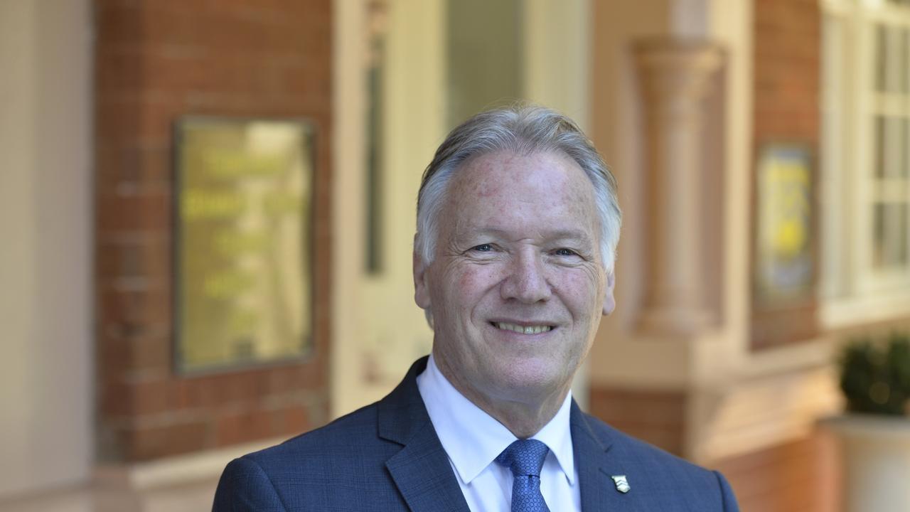 Toowoomba Grammar School headmaster Peter Hauser.