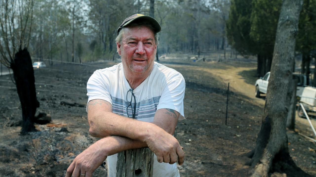 Boiler maker John Howard who helped rescue Kim Macdonald. Picture Nathan Edwards.