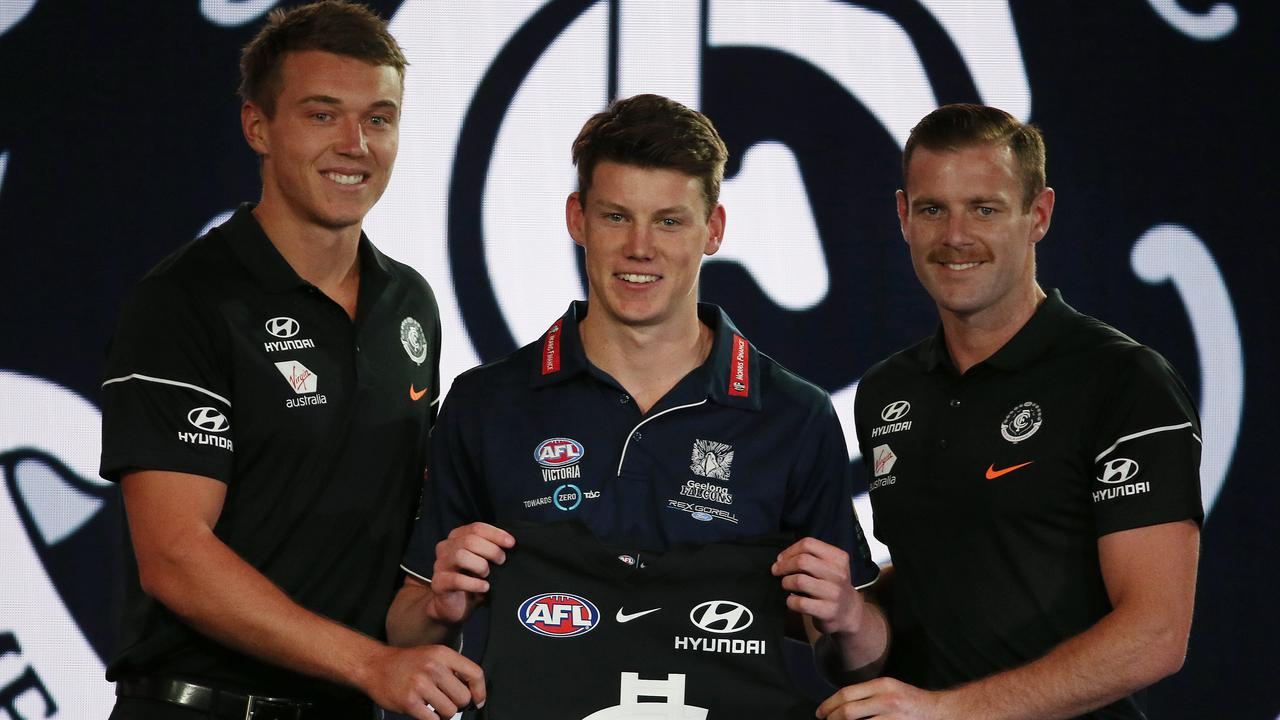 Sam Walsh was snapped up by the Blues last year. Picture: Michael Klein
