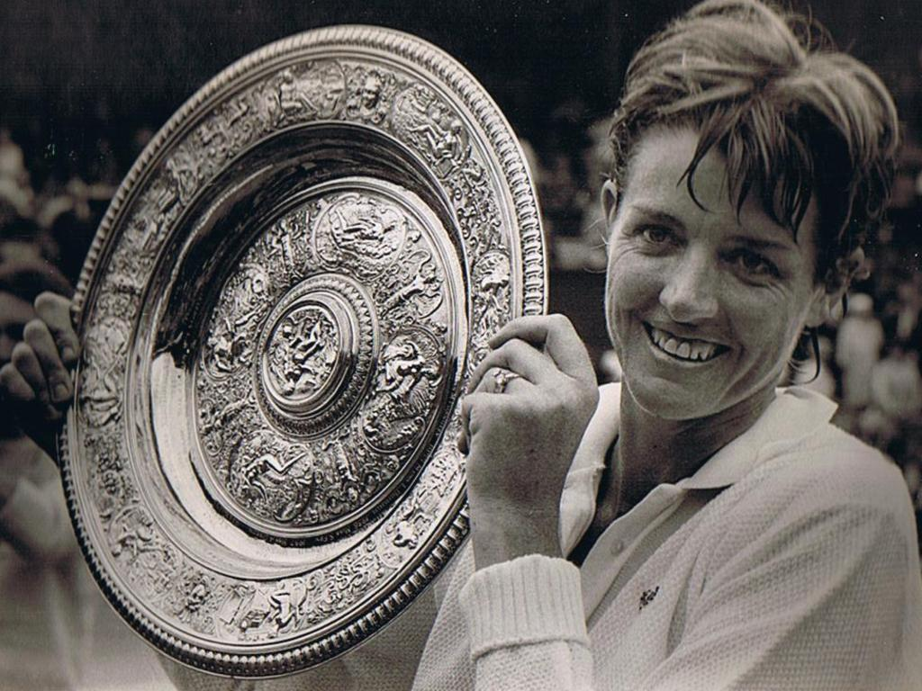 Margaret Court won all four majors in 1970.