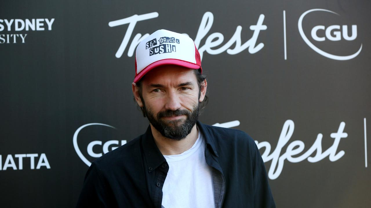 Nash Edgerton on the black carpet at Trop Fest, Parramatta Park, 9th February 2019. Picture by Damian Shaw
