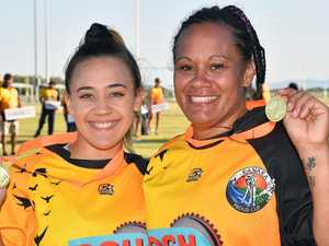 PHOTOS: Mum and daughter share one final game