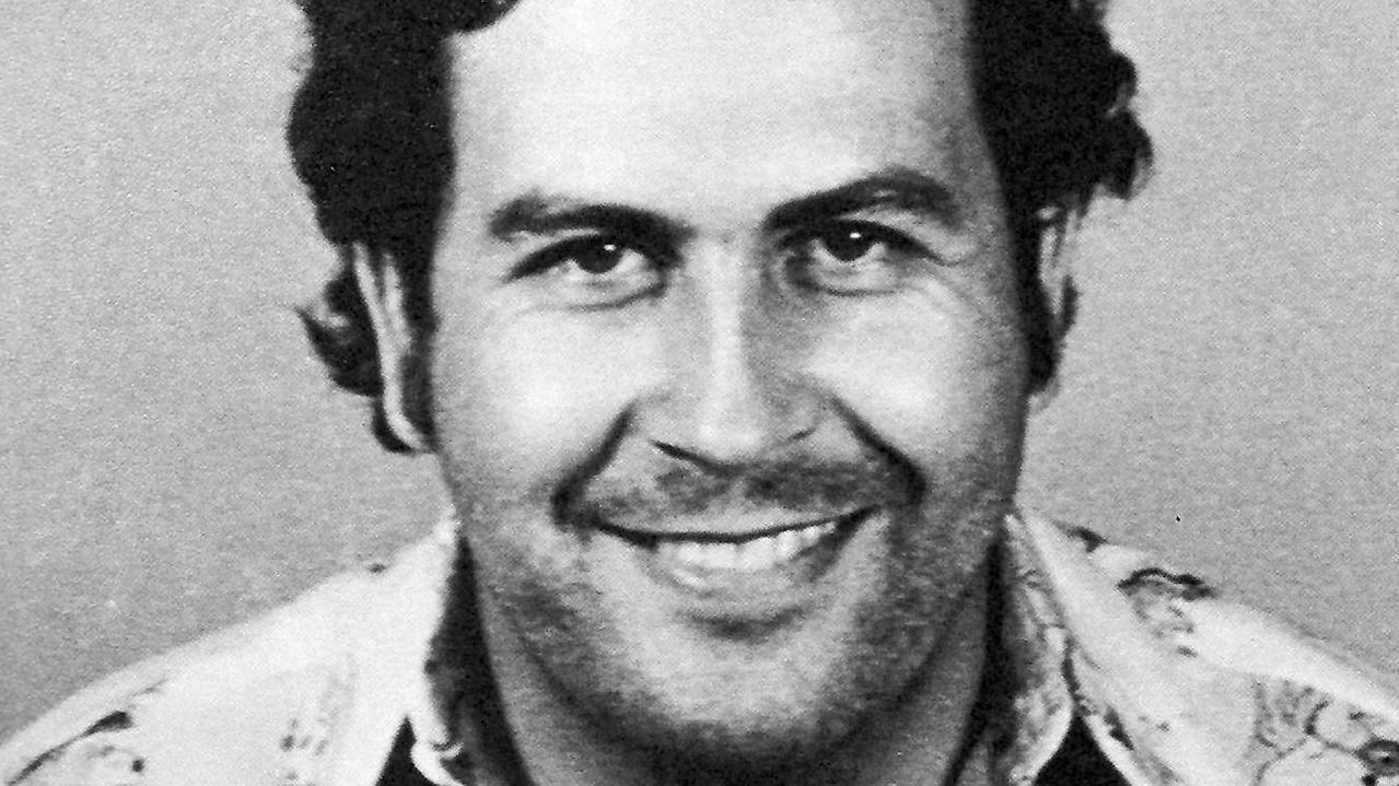 Pablo Escobar in his mug shot. Picture: Supplied