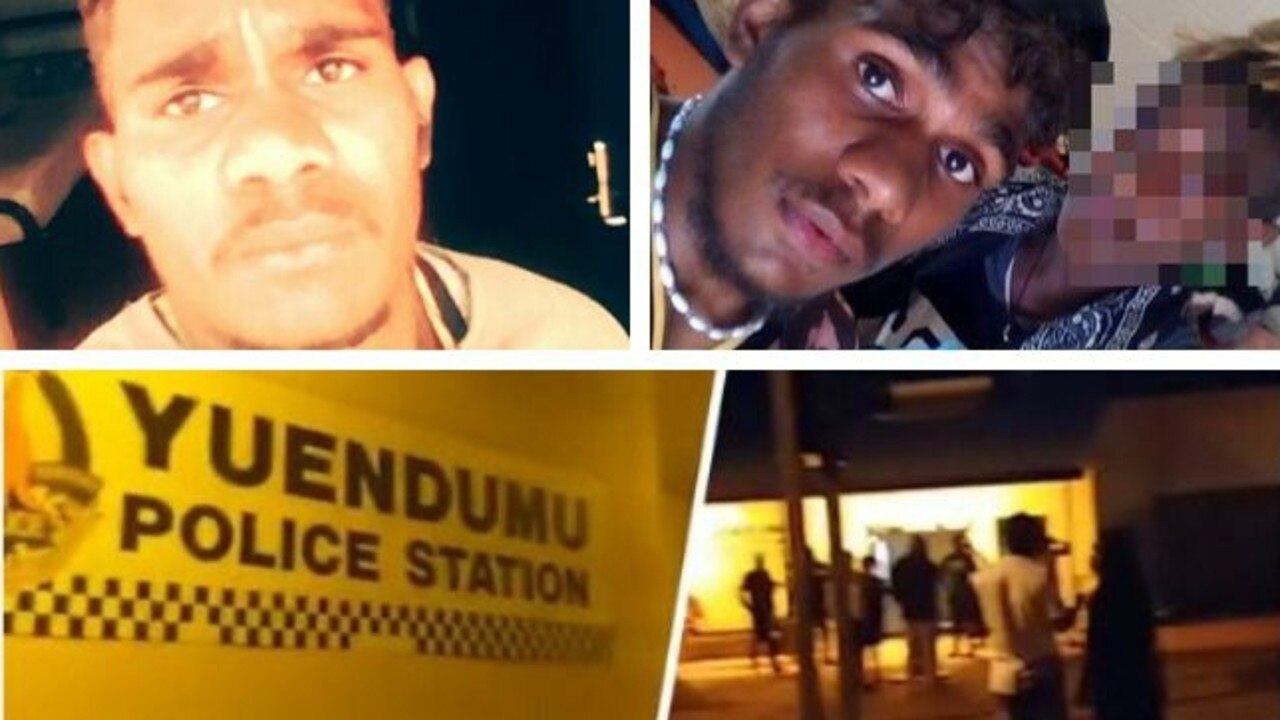 Arnold Walker was shot by police in Yuendumu on Saturday night. Pictures: Facebook