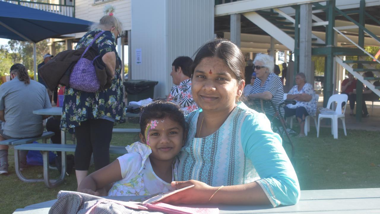 FETE FUN: Nysa and Vasanthi Maddhu