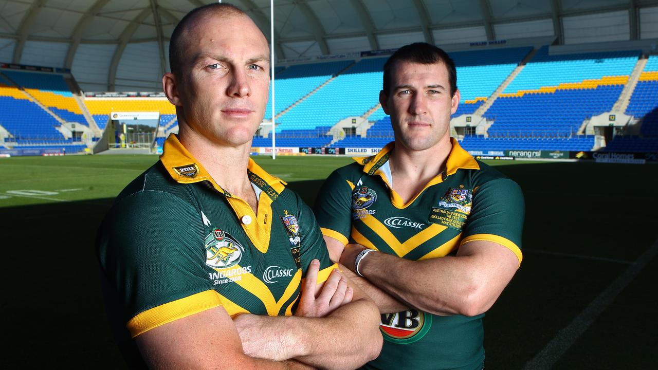 Gallen said Darren Lockyer is the most professional player he has seen. Picture: Peter Wallis