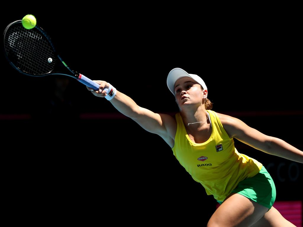 Ash Barty claims to have played the best match of her life on Sunday