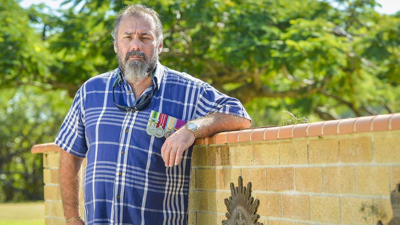 Australian Army Signalman Chris Feros served in Western Sahara during the 90s