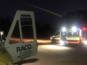 Man flown to Rocky Hospital after quad bike accident