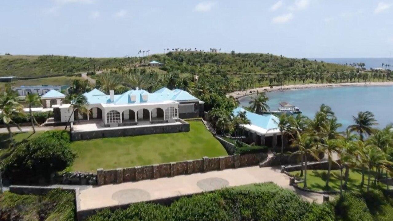 Jeffrey Epstein's private Caribbean island.