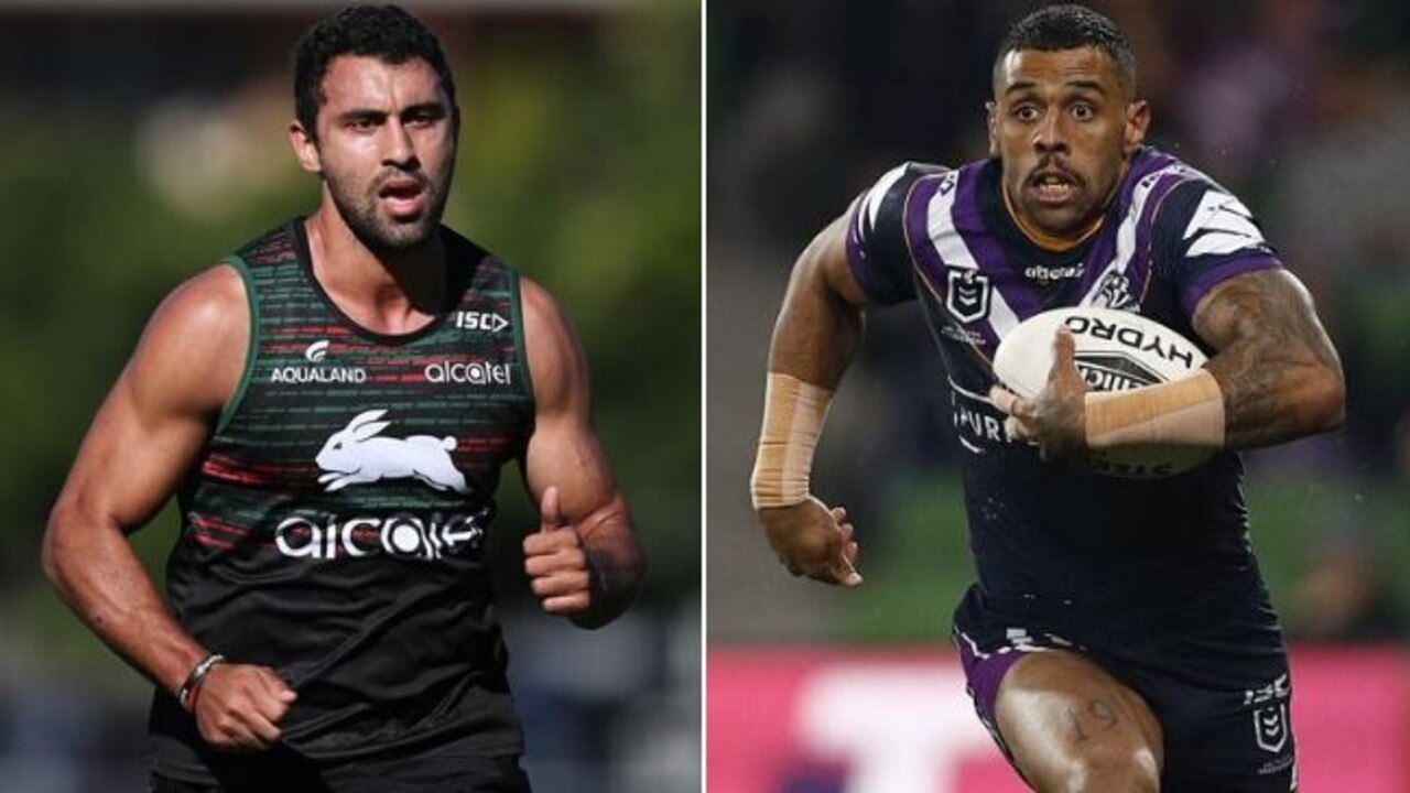 Alex Johnston could be on the way out of the Rabbitohs and Josh Addo-Carr in.
