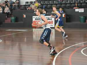 CDC Number 2 basketball U18 action