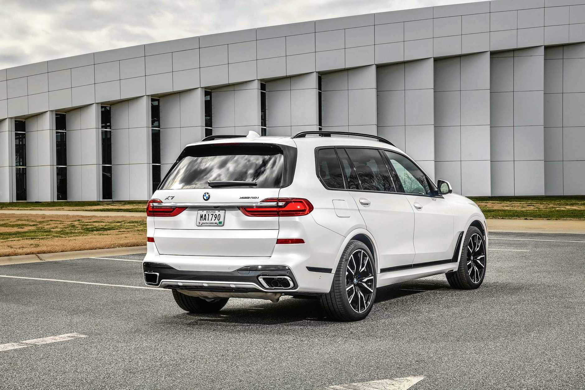 The plush seven-seat BMW X7.