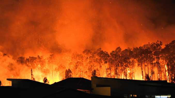 Tips to survive a bushfire if you get trapped at your house