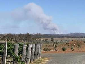 Emergency service crews race to Kilkivan bushfire scene
