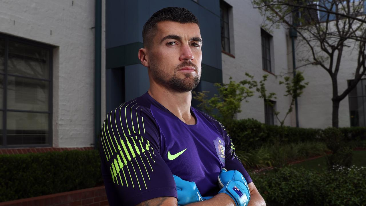 Socceroos goalkeeper Mat Ryan has been a big advocate for equal pay. Picture: Gary Ramage