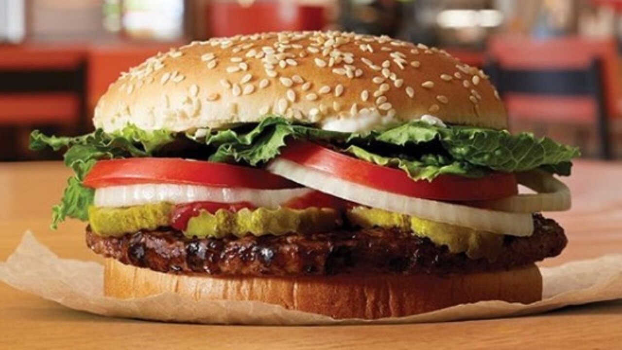 A discounting error has cost a Burger King franchisee a fortune. Picture: Instagram/@burgerking