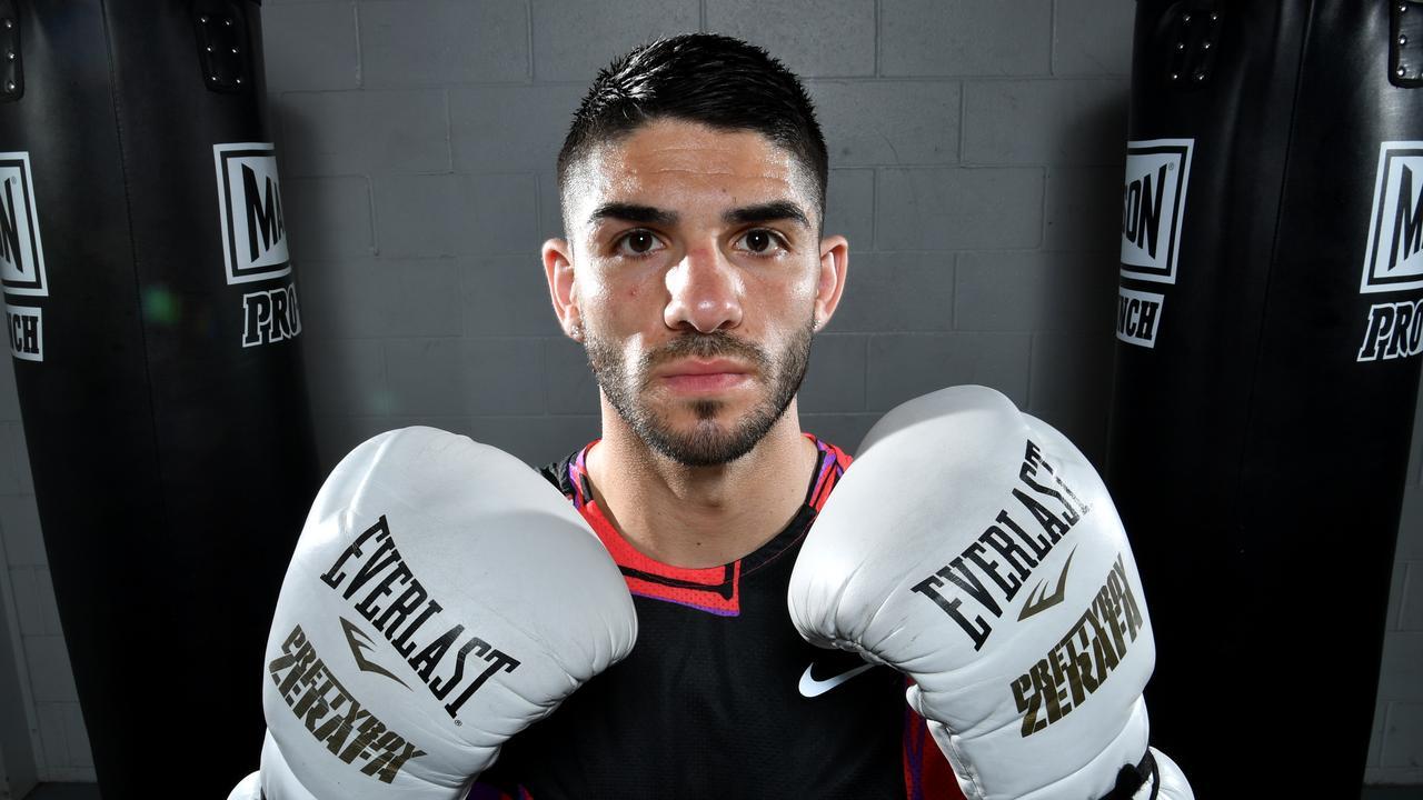 Boxer Michael Zerafa. Picture: AAP Image/Darren England