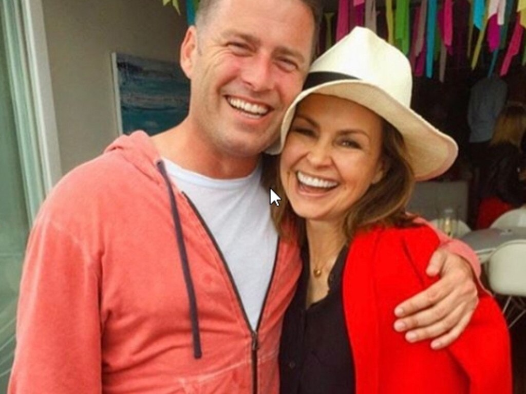 Lisa Wilkinson and Karl Stefanovic had a very successful onscreen partnership. Picture: Instagram