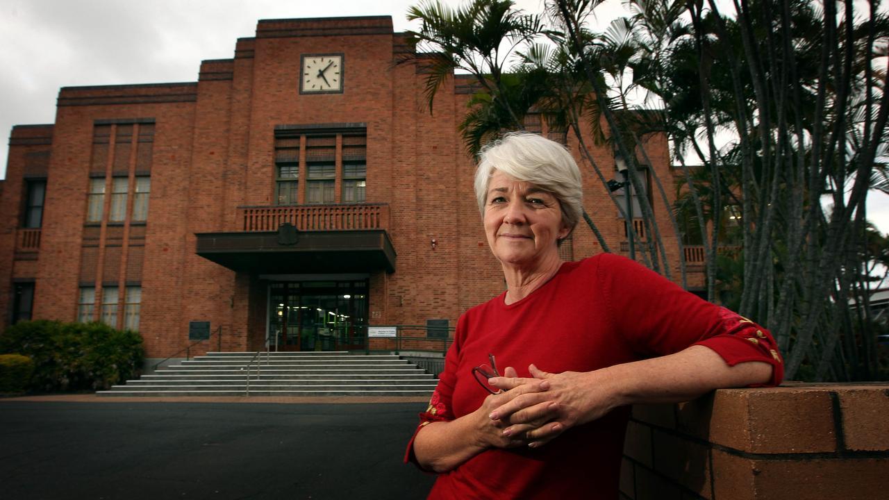 Rockhampton Regional Mayor Margaret Strehlow , outside the Council Chambers , Rockhampton.