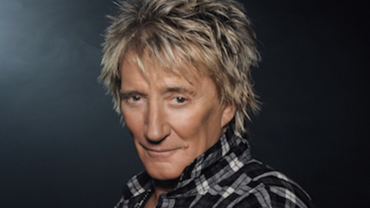 Rod Stewart has announced he'll tour Australia in 2020. Picture: Penny Lancaster