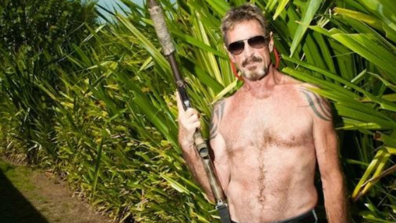 John McAfee fled Belize in 2012 after the death of his neighbour.