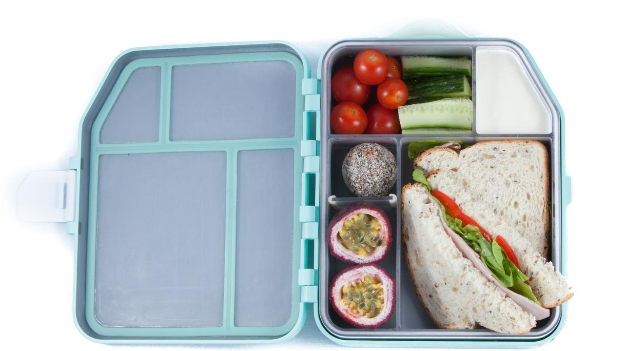 The Boxi lunch box is designed to keep food in separate compartments, fresh and cold, and fit a whole sandwich.