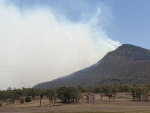 GALLERY: Firefighters battle Thornton bushfire