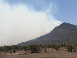 GALLERY: Firefighters battle Thornton bushfire