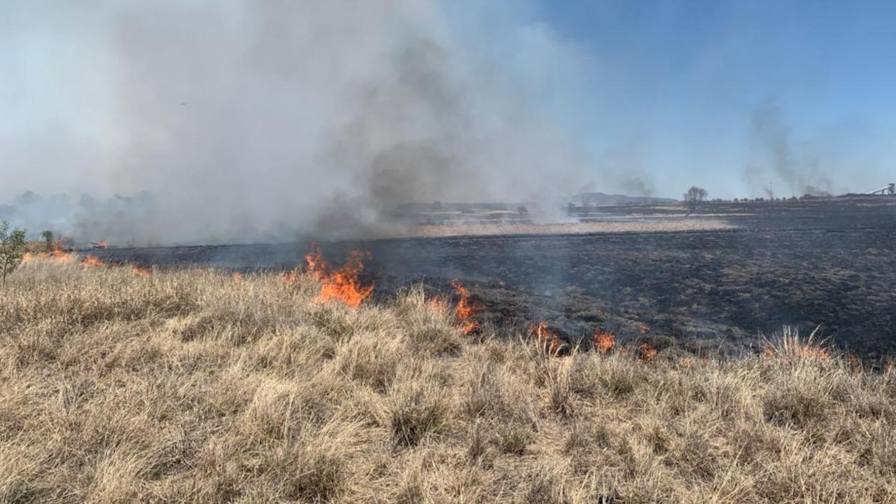 Fires near Springsure.