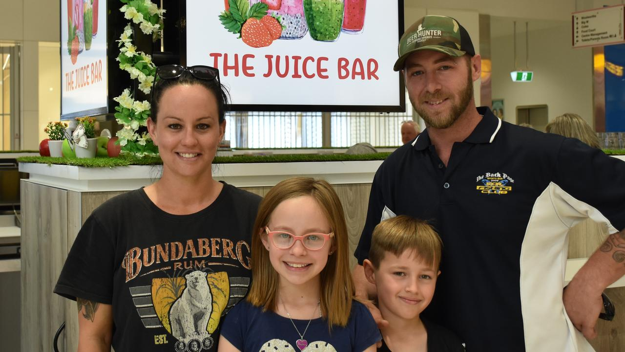 LENDING A HAND: Oryana and Josh Bravery with their children Hailie and Luca, doing what they can to help those affected by the NSW fire.