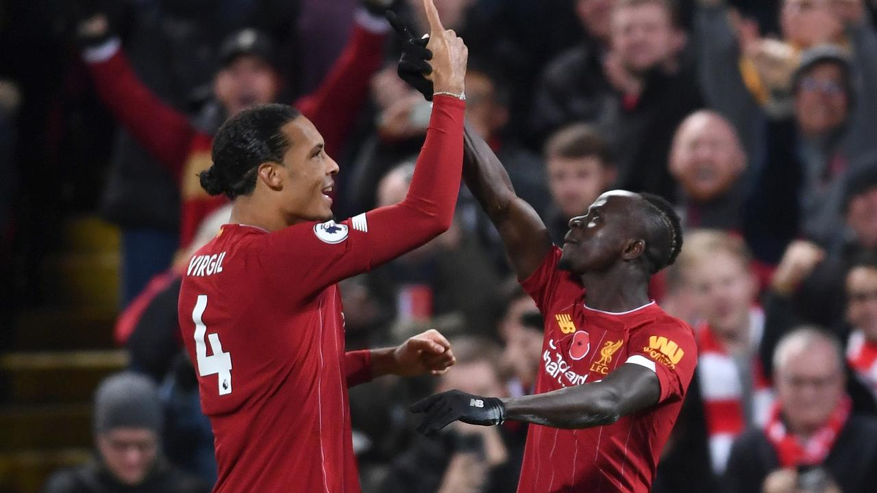Sadio Mane and Virgil van Dijk played big parts in the victory.