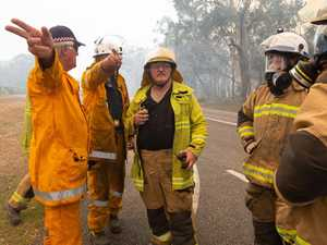 IN PHOTOS: Inside horror bushfire that threatened Noosa
