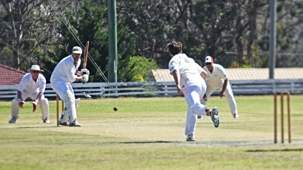 Souths batsman Ben Staley racked up the runs for his Souths side in their win over Tenterfield.