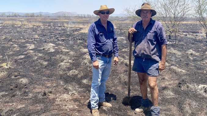 Neighbouring farmers help bring fire under control